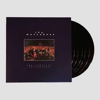 The Maccabees The Complete Collection  6LP + DVD Book Set (Ltd Edition) Boxset