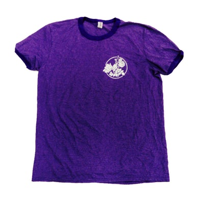 The Maine Purple Ringer T-Shirt