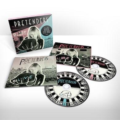 The Pretenders Alone Deluxe CD
