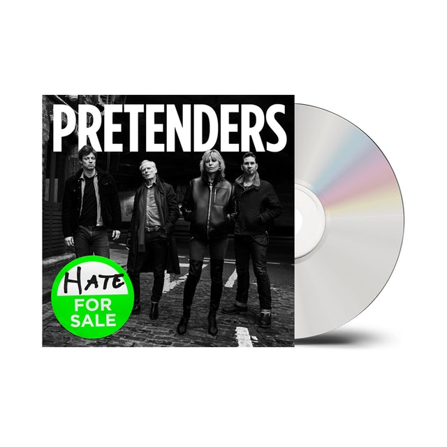 The Pretenders Hate For Sale CD