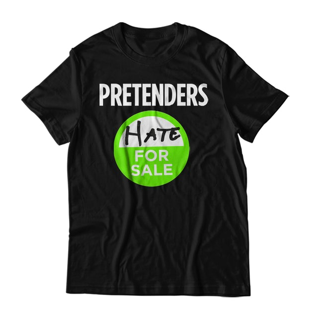 The Pretenders Hate For Sale T-Shirt