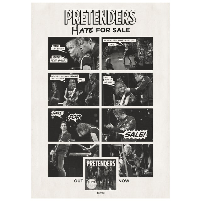 The Pretenders A1 Poster