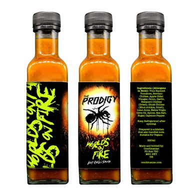 World's On Fire Hot Sauce 2020