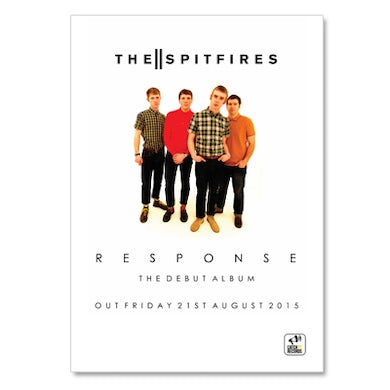 The Spitfires A2 Poster