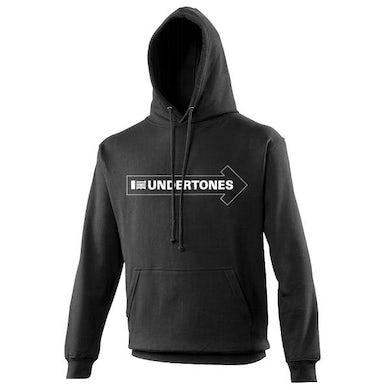 The Undertones Black Logo Hoody