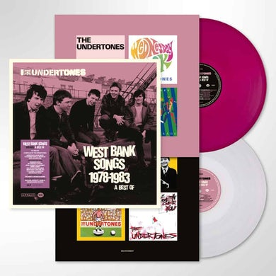 The Undertones West Bank Songs 1978-1983: A Best Of - Double Purple/White Vinyl Double LP