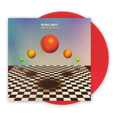 The Vryll Society Course Of The Satellite Transparent Red Vinyl LP LP