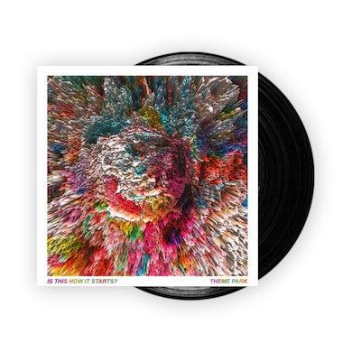 Theme Park Is This How It Starts Black Vinyl LP LP