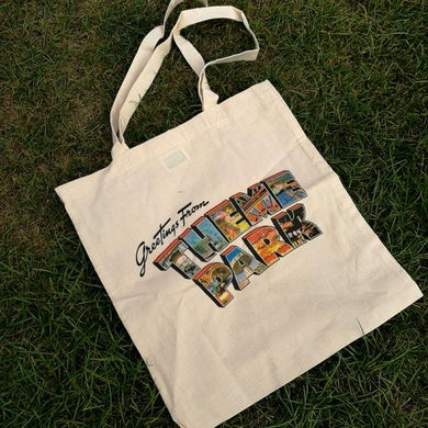 Greetings From Theme Park Tote Bag