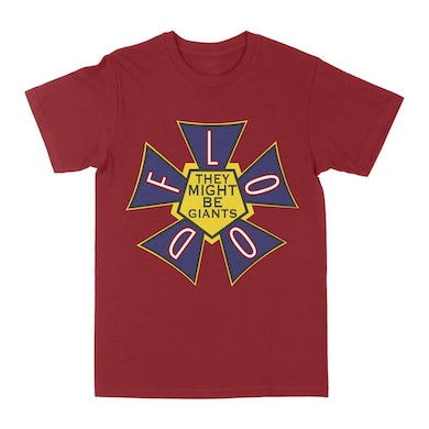 They Might Be Giants Flood Logo T-Shirt