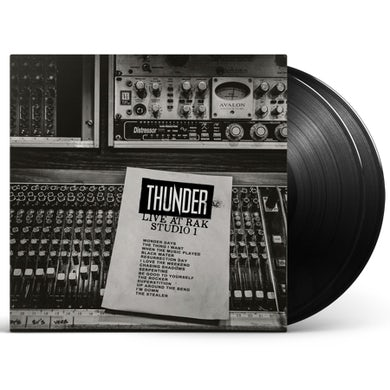 Thunder Live At RAK Studio 1 Double Heavyweight LP (Vinyl)