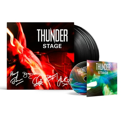 Thunder Stage Triple Vinyl + Blu-ray Triple Heavyweight LP