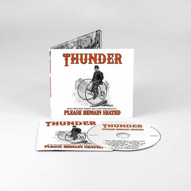 Thunder Please Remain Seated CD