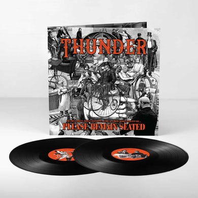 Thunder Please Remain Seated Double Heavyweight LP (Vinyl)