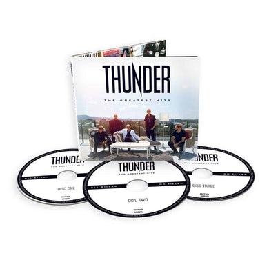 Thunder The Greatest Hits Deluxe 3CD Deluxe CD