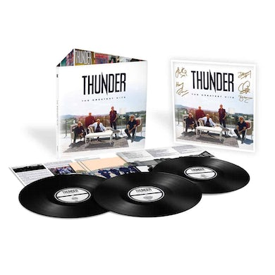 Thunder The Greatest Hits Triple LP (Vinyl)