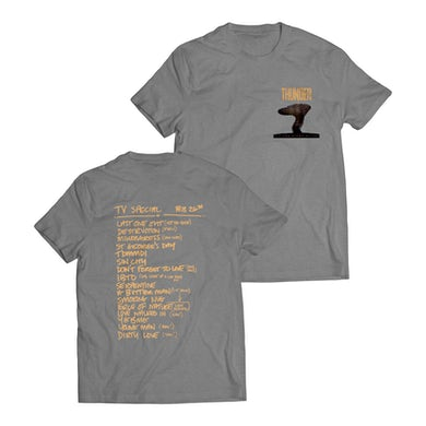 All The Right Noises Setlist T-Shirt (Grey)