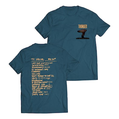 All The Right Noises Setlist T-Shirt (Blue)