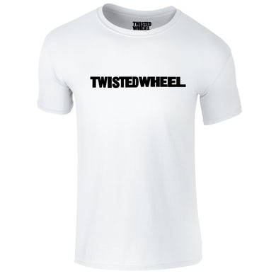 Twisted Wheel Logo White T-Shirt