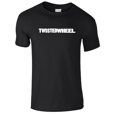 Twisted Wheel Logo Black T-Shirt