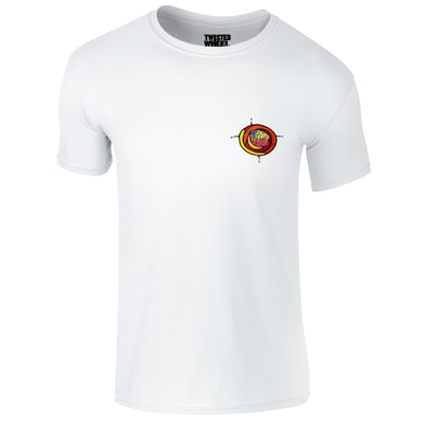 Twisted Wheel Coloured Chest Logo White T-Shirt