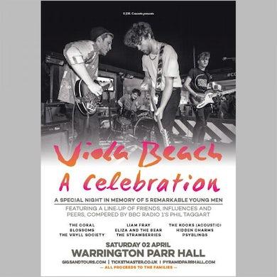 Viola Beach Celebration A2 Poster