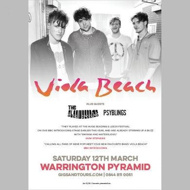 Viola Beach Warrington Pyramid Print (A3)
