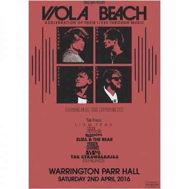 Viola Beach Celebration Art Print A3