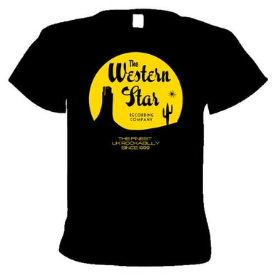 WESTERN STAR Classic Yellow Logo T-Shirt