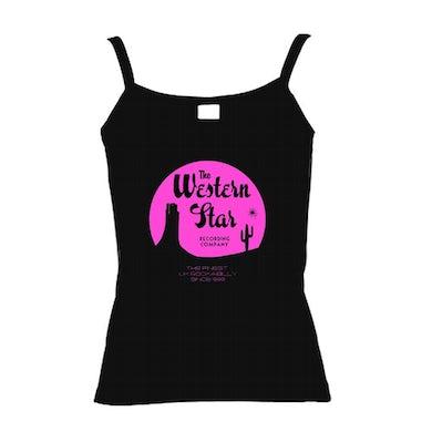 WESTERN STAR Ladies Pink Strap Vest