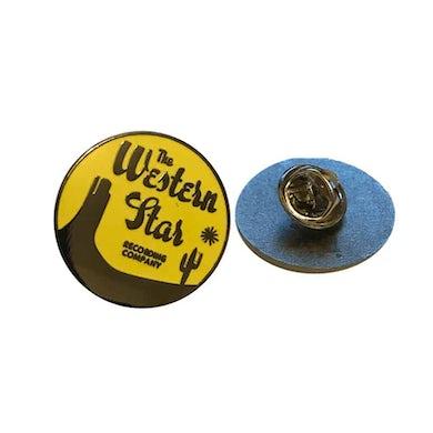 WESTERN STAR Enamel Button/Lapel Badge