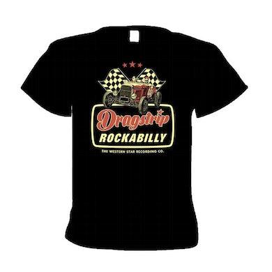 WESTERN STAR Dragstrip Rockabilly T-Shirt (Peach)