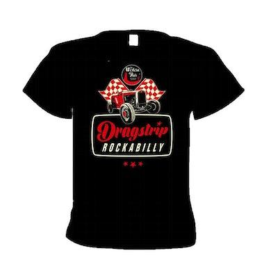WESTERN STAR Dragstrip Rockabilly T-Shirt (Red)