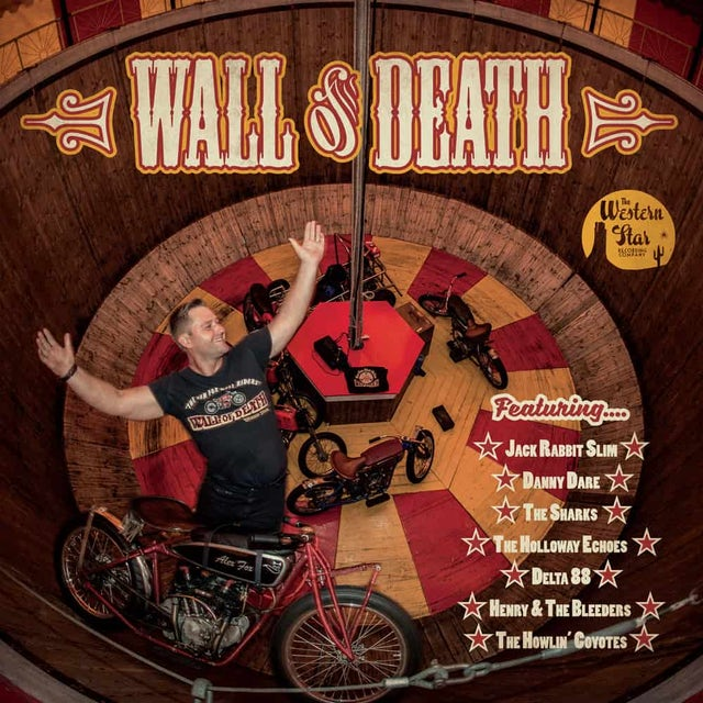 WESTERN STAR Wall Of Death 10-Inch Mini Album (Coloured Vinyl) 10 Inch