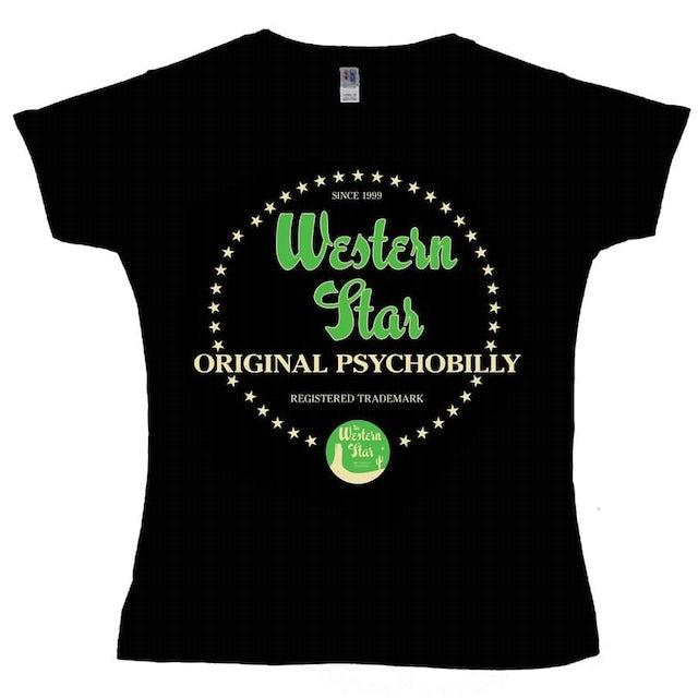 WESTERN STAR Original Psychobilly Ladies T-Shirt