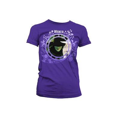 Wicked Purple Keyart Collage T-Shirt