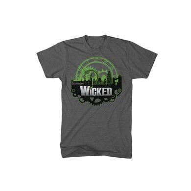 Wicked Organic London Skyline T-Shirt