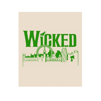 Wicked Skyline Tea Towel