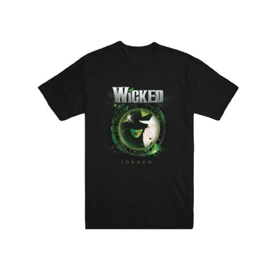 Wicked London Unisex Clock T-Shirt