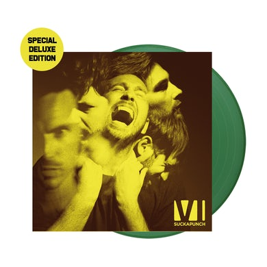 You Me At Six Suckapunch Special Deluxe Edition Green LP (Vinyl)