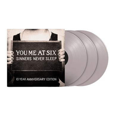 Sinners Never Sleep (10th Anniversary) Coloured Triple Triple LP (Vinyl)