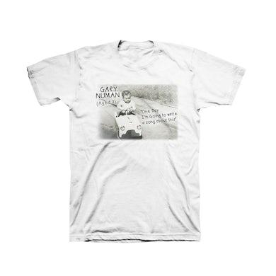 Little Cars (Gary Numan Aged 3) T-Shirt