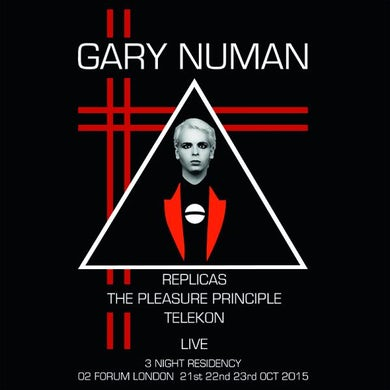 Gary Numan Live At The Forum CD Box Set Boxset