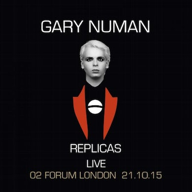 Gary Numan Replicas - Live At The Forum (Picture Disc) (Signed) Double Heavyweight LP (Vinyl)