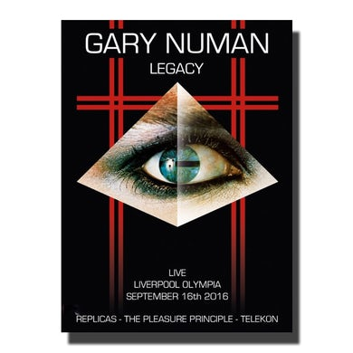 Gary Numan Legacy - Live at The Olympia, Liverpool. September 16th, 2016 DVD