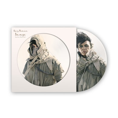 Gary Numan Exclusive Savage Picture Disc Double Heavyweight LP (Vinyl)