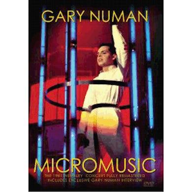 Gary Numan Micromusic [PAL VERSION] (Store Exclusive) DVD