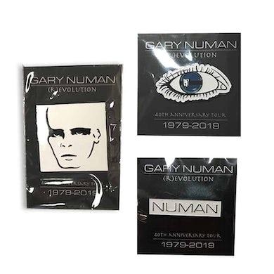 Gary Numan Enamel Pin Badge