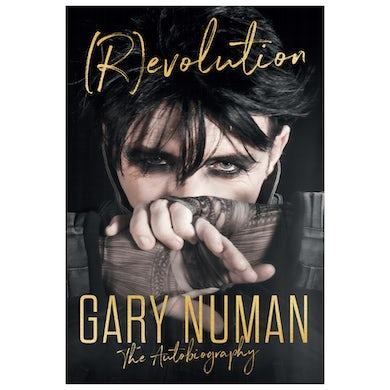 Gary Numan (R)evolution The Autobiography Hardback Book Signed Insert