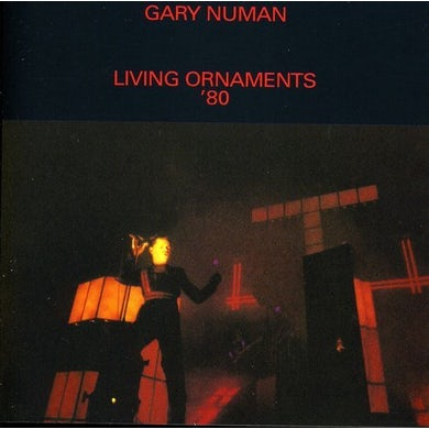 Gary Numan Living Ornaments '80 CD